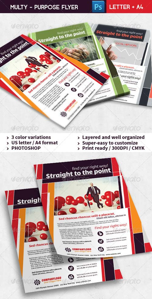 GraphicRiver Corporate Business Flyer 01