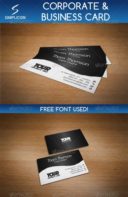 GraphicRiver Elegant Corporate & Business Card