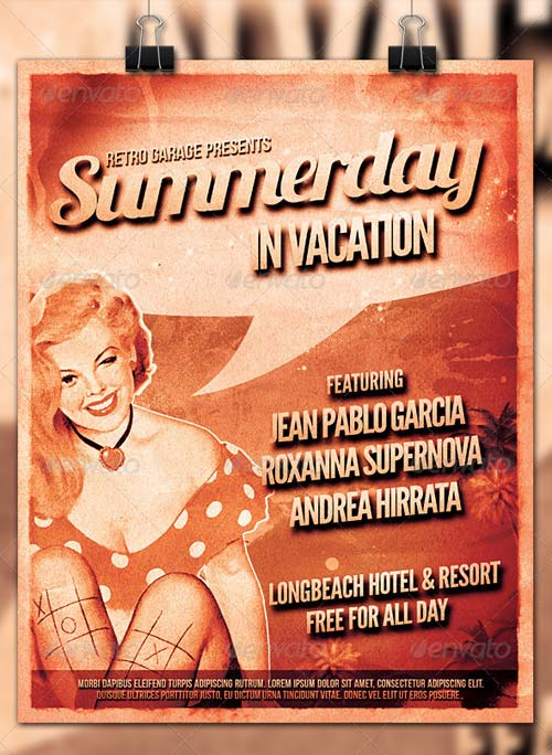 GraphicRiver Summerday Party Poster