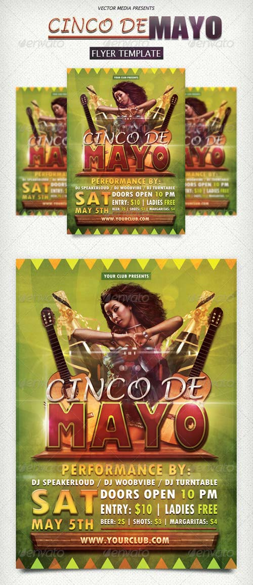 GraphicRiver Cinco De Mayo - Flyer