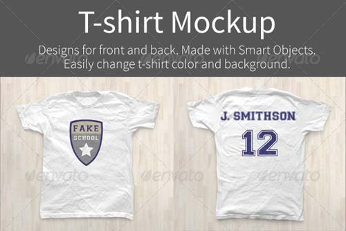 GraphicRiver T-shirt Mockups