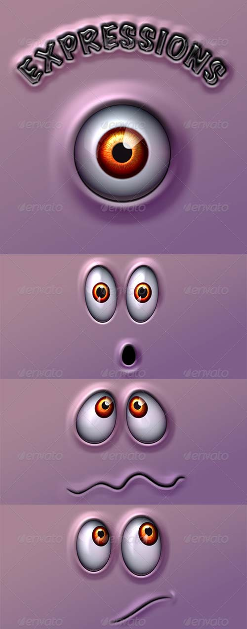 GraphicRiver Character Expressions Pack