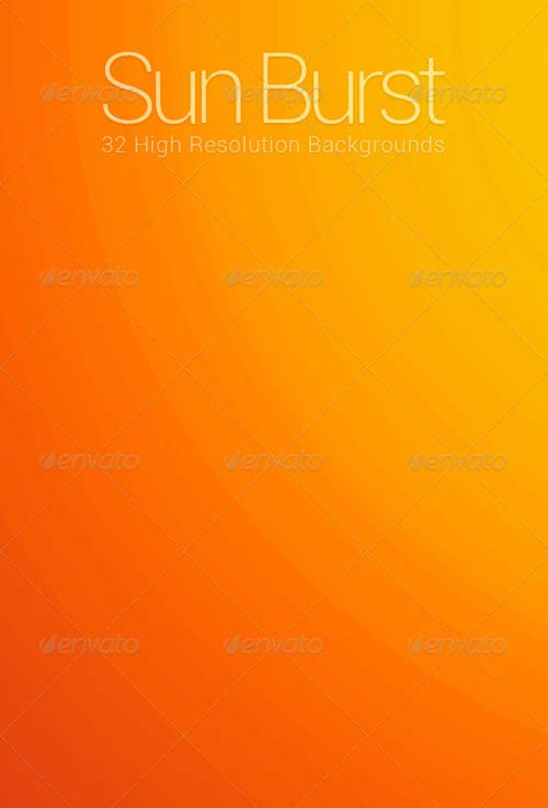 GraphicRiver 32 Sun Burst Backgrounds Pack 1