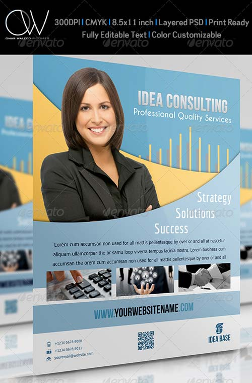 GraphicRiver Corporate Flyer Vol.6