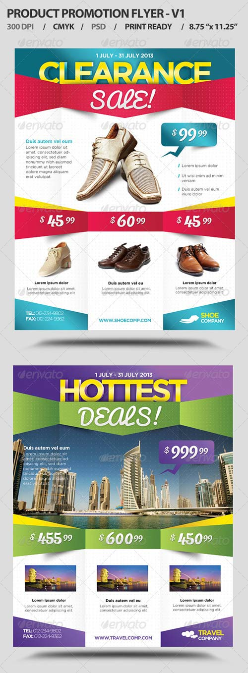 GraphicRiver Product Promotion Flyer V1
