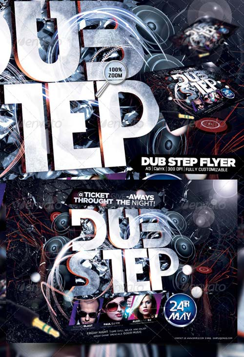 GraphicRiver Dub Step Flyer