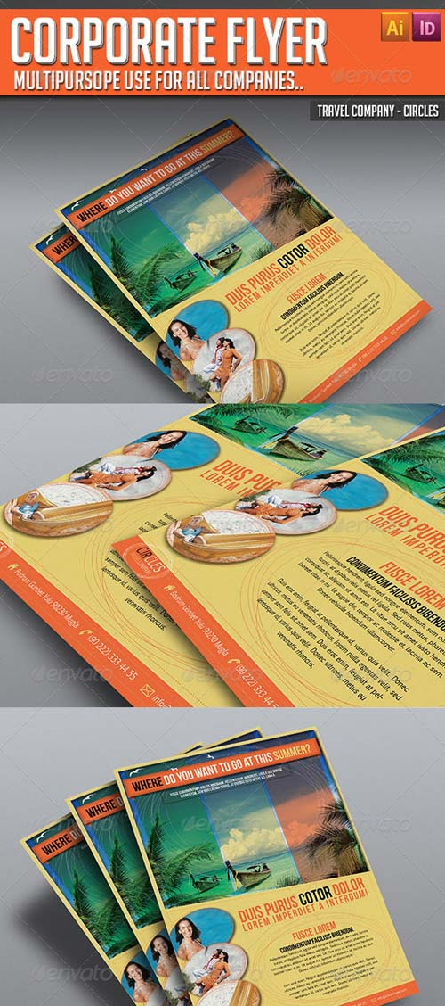 GraphicRiver Corporate Flyer - Circles