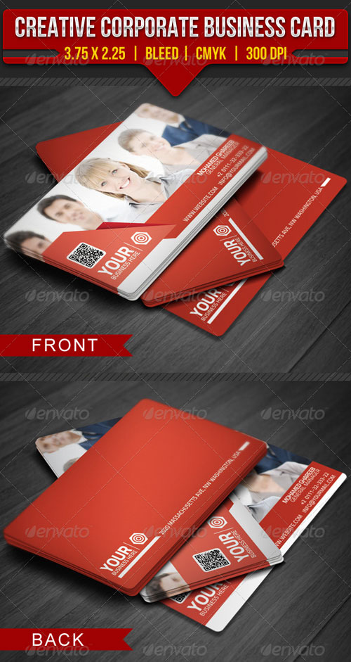 GraphicRiver Creative Corporate Business Card