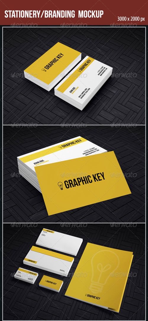 GraphicRiver Stationery/Branding Mockup