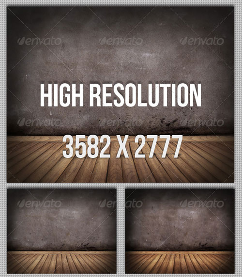 GraphicRiver 6 Floor and Wall Backgrounds