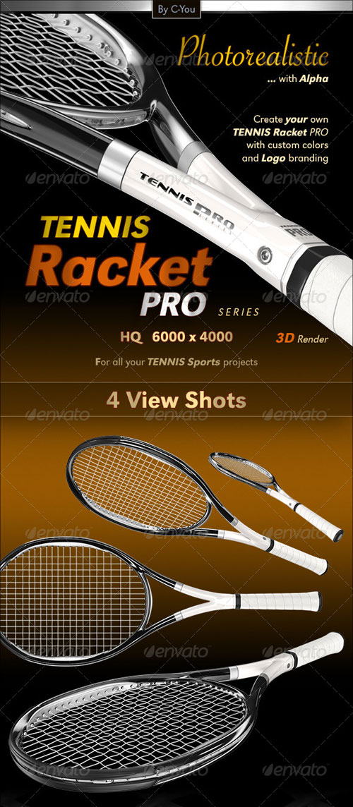 GraphicRiver Tennis Racket