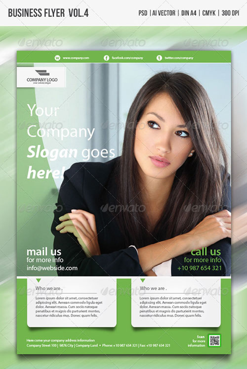 GraphicRiver Multipurpose Business Flyer vol.4