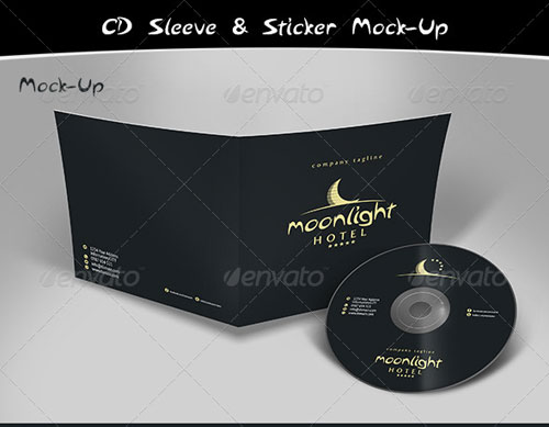 GraphicRiver Cd Mock-Up