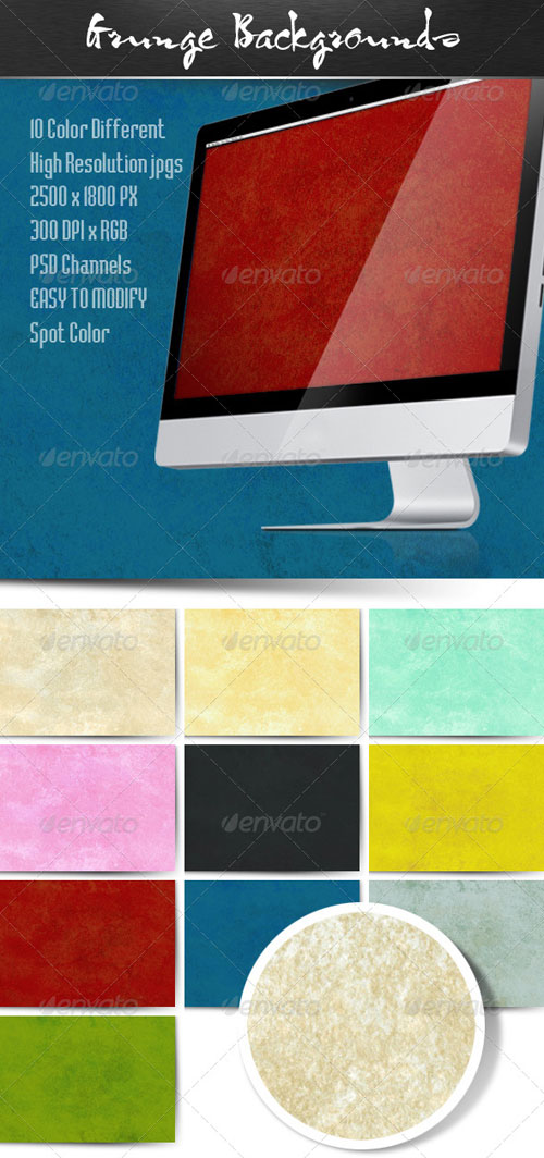 GraphicRiver Grunge Backgrounds