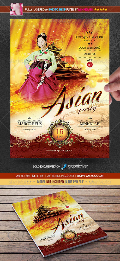 GraphicRiver Asian Party Poster/Flyer