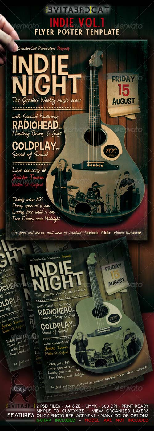 GraphicRiver Indie Flyer / Poster VOL.1