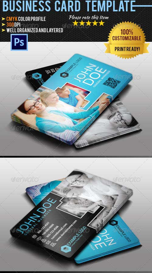 GraphicRiver Education Business Card