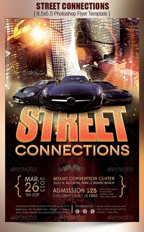 GraphicRiver Street Connections Flyer Template