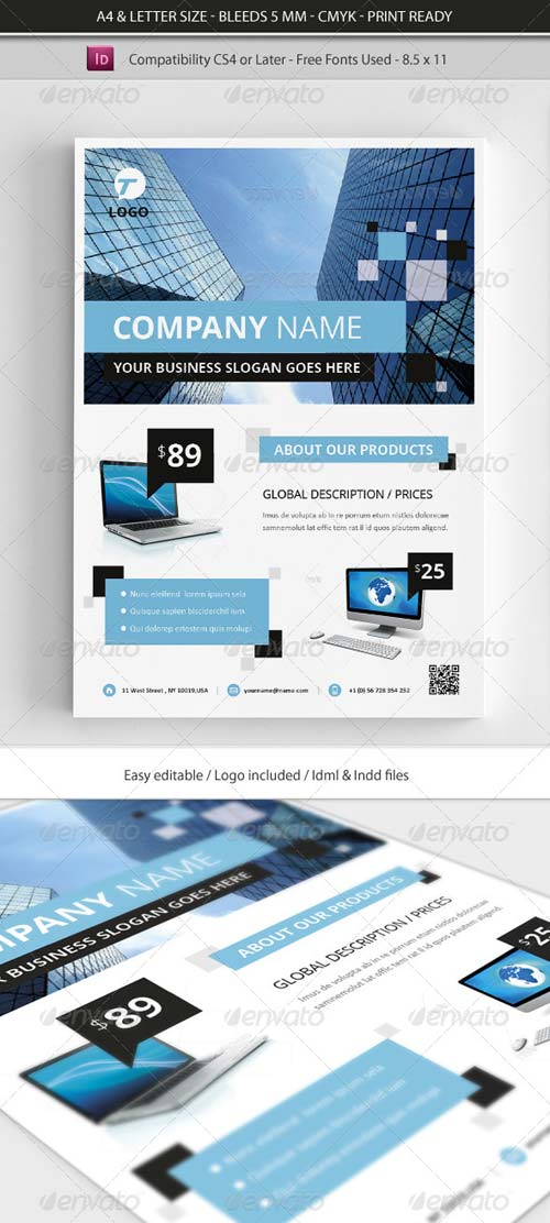 GraphicRiver Corporate & Business Commerce Flyer Template