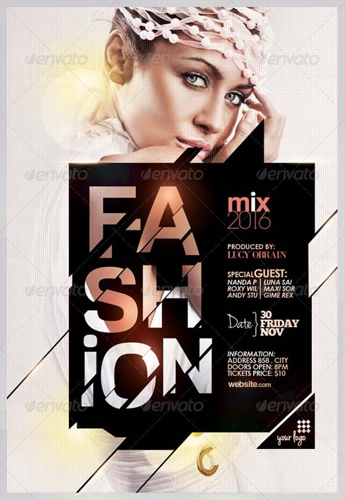 GraphicRiver Fashion Mix Flyer Template