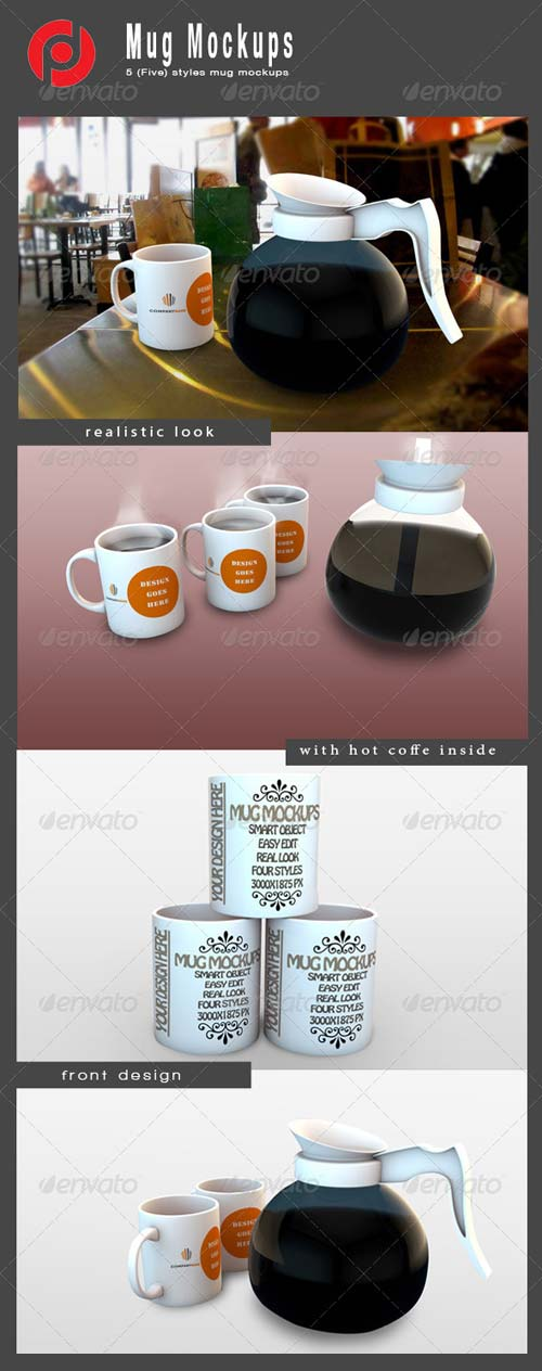 GraphicRiver Mug Mock-Ups
