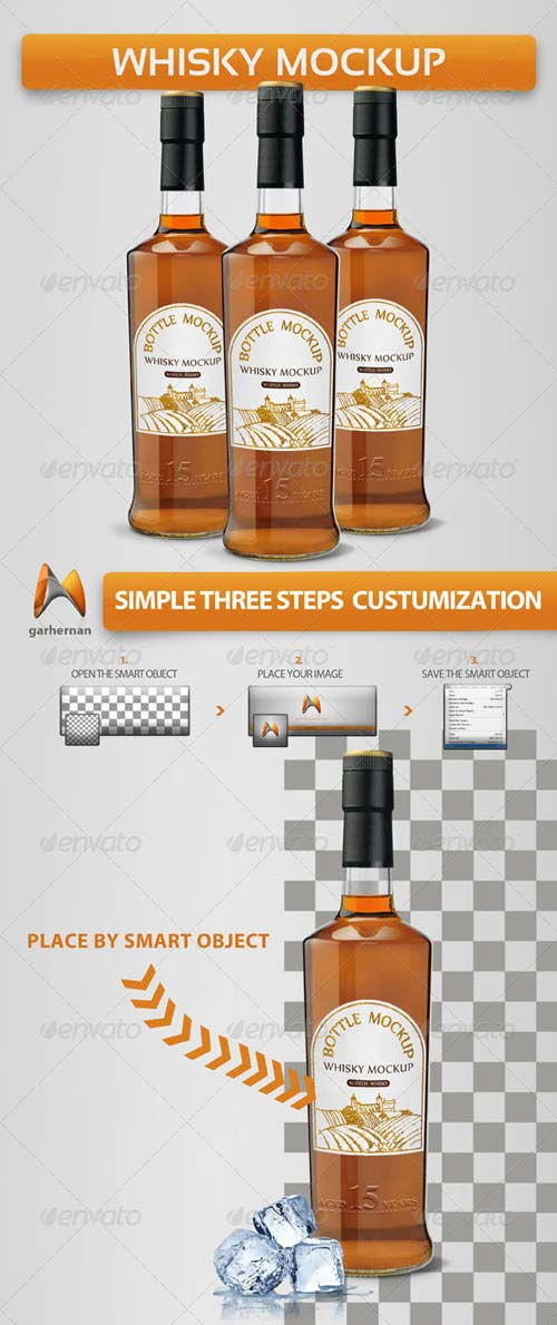 GraphicRiver Whisky Mock-Ups