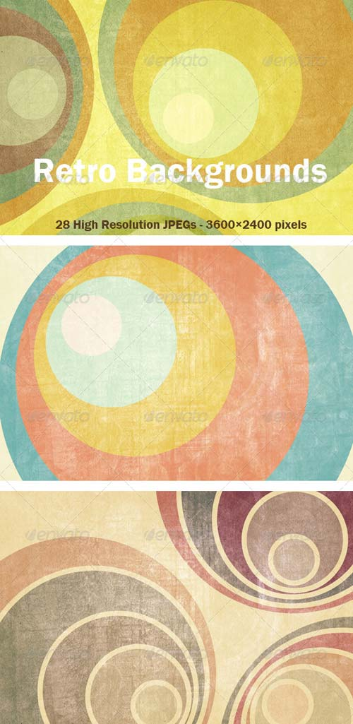 GraphicRiver 22 Retro Backgrounds