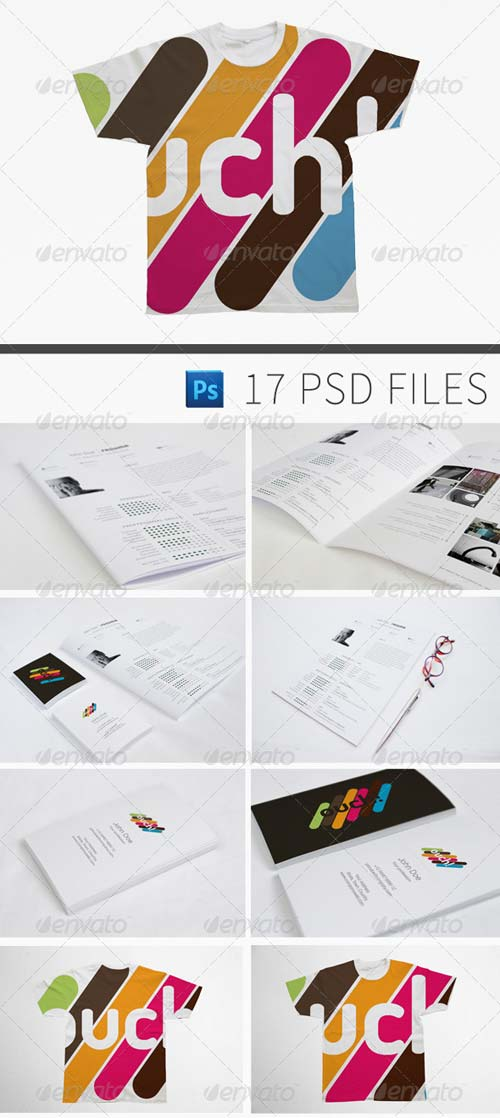 GraphicRiver Complete Branding Mock-up