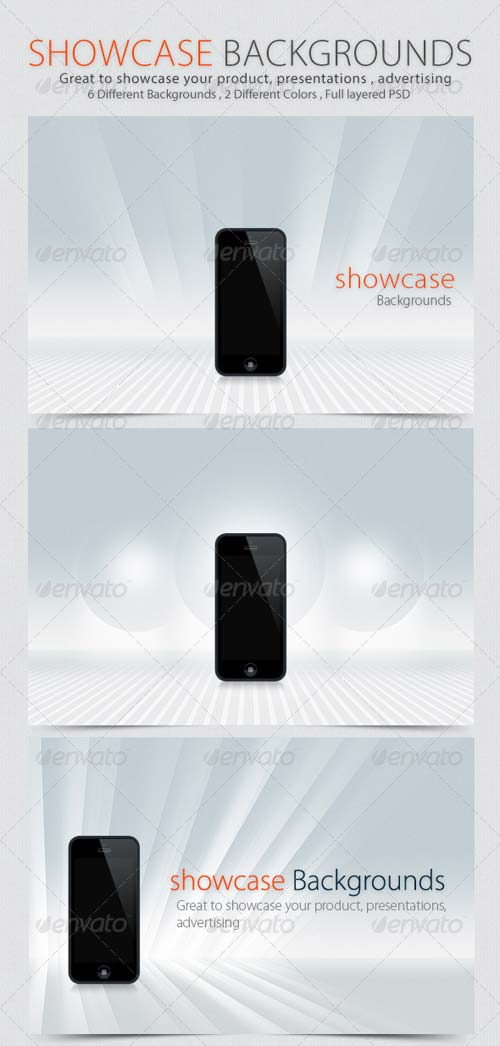 GraphicRiver Showcase Backgrounds