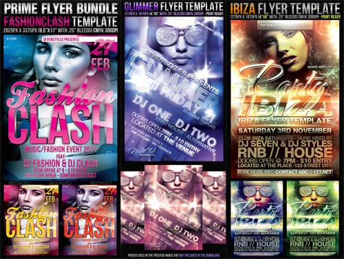 GraphicRiver Prime Flyer Bundle
