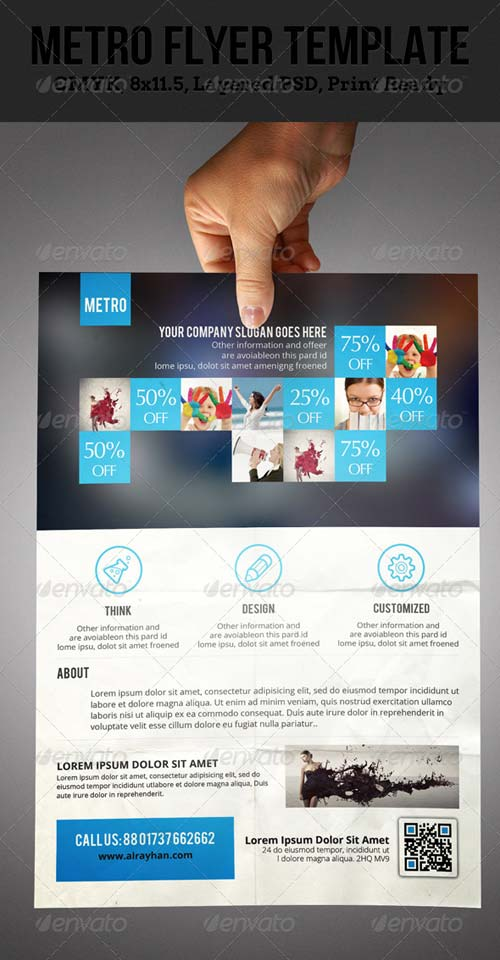 GraphicRiver Metro Corporate Flyer