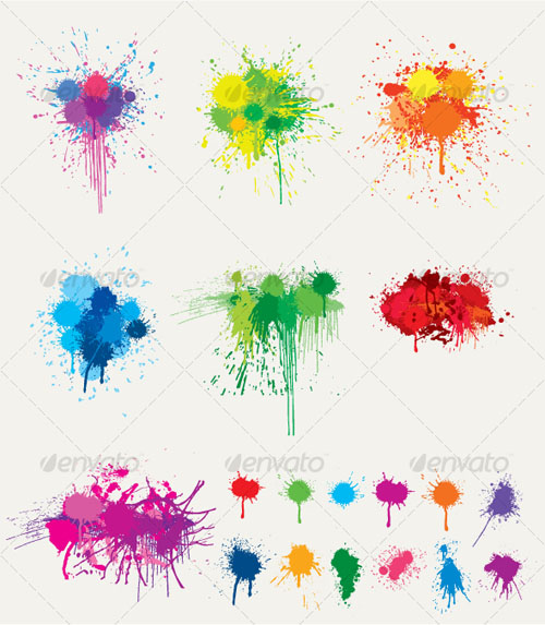 GraphicRiver Ink Splat Collection
