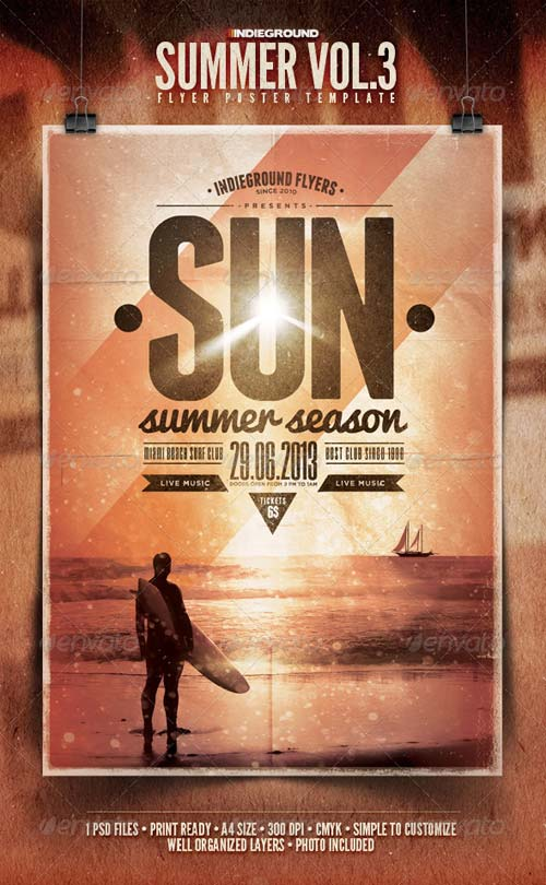 GraphicRiver Summer Flyer/Poster Vol. 3