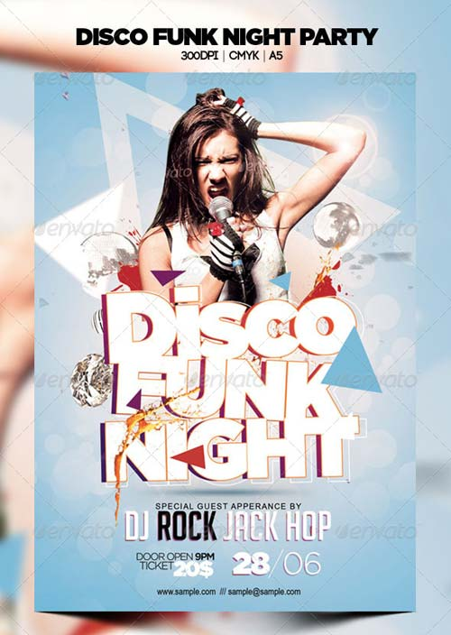 GraphicRiver Disco Funk Night Party