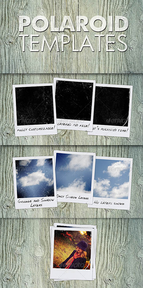GraphicRiver Polaroid Templates