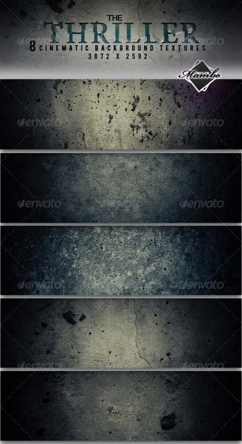 GraphicRiver The Thriller - Cinematic Background Textures