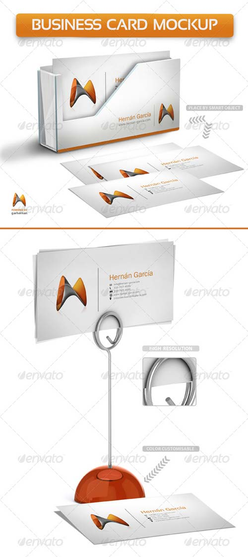 GraphicRiver Business Card Mockup 4944319