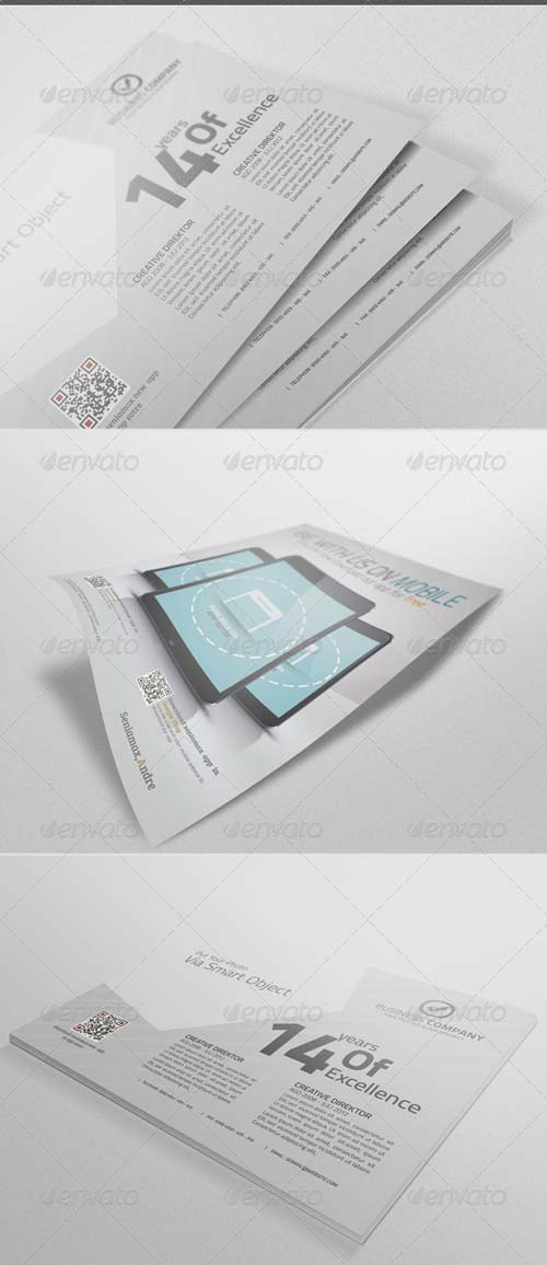 GraphicRiver Flyer Mockup Vol.3