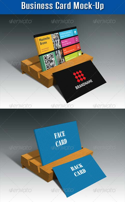 GraphicRiver Business Card Mock-Up V04