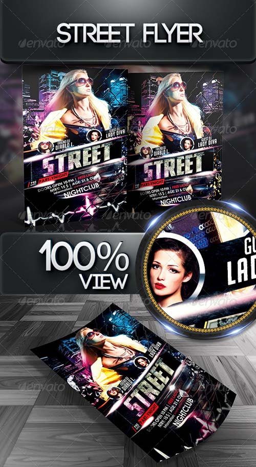 GraphicRiver Street Flyer Template