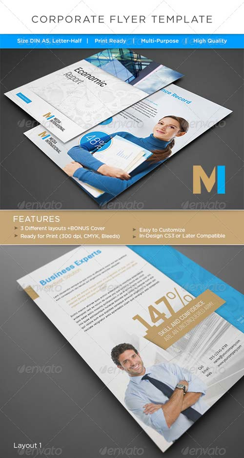GraphicRiver Corporate Flyer / AD Template 4968062