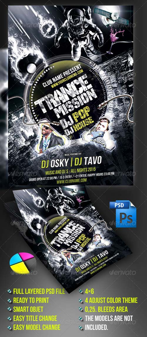 GraphicRiver Trance Mission Party
