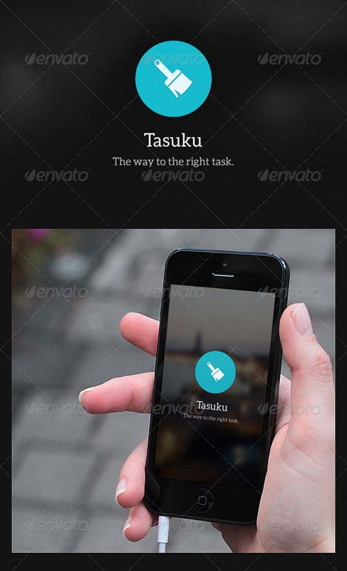 GraphicRiver Phone To Dos App - Tasuku
