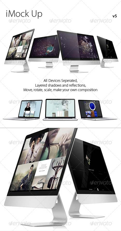 GraphicRiver iMock Up v5