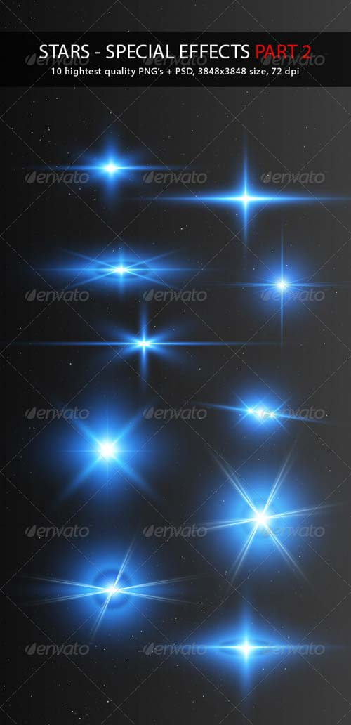 GraphicRiver Stars - Special Effects Pack 2