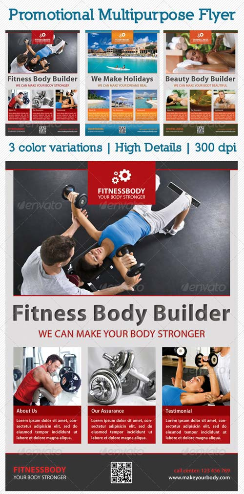 GraphicRiver Promotional Multipurpose Flyer