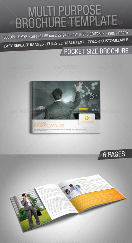 GraphicRiver Business Brochure 5033111