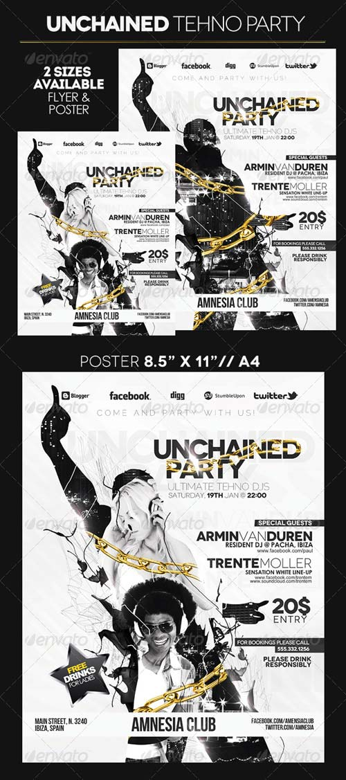 GraphicRiver Unchained Party