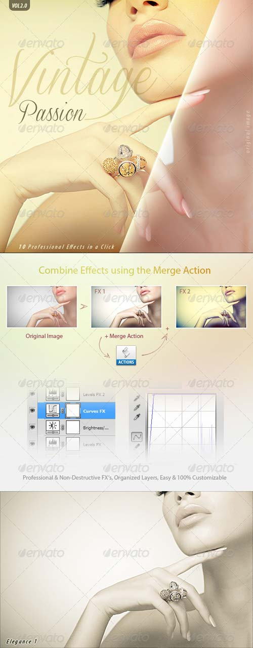 GraphicRiver Vintage Passion Vol 2 | 10 Pro FX