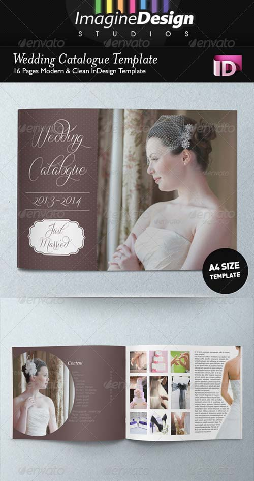 GraphicRiver Wedding Catalogue Template